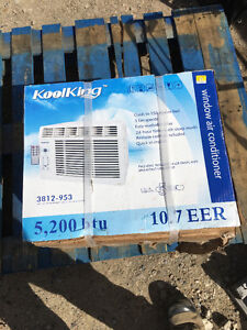 Kool King Window Air Conditioner (Brand NEW)