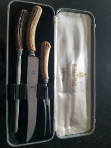 Vintage Haddon Hall Stainless Steel Carving Set