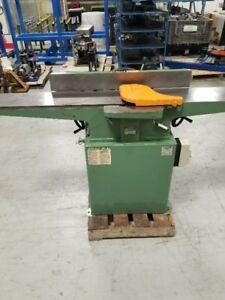 General 8″ Jointer with Extra Long Table