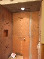 Tile Installer for Shower