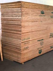 lumber plywood 3/8 in 1/2 in 5/8 in 4x8 ft