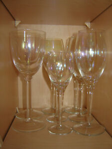 Retro iridescent glassware and bowl - bar items London Ontario image 2