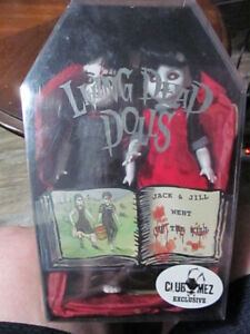 Selling Rare Living Dead Doll Jack and Jill ClubMez Exclusive