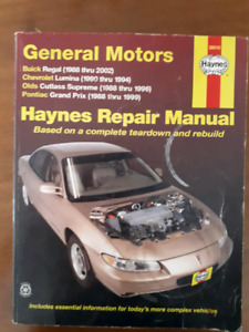 Buick,Chevy,Olds and Pontiac Repair Manual