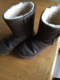 Genuine UGG boots - size UK 5.5