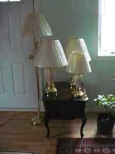 Set of four touch lamps. Kingston Kingston Area image 1