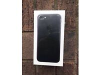 Apple iPhone 7 - Brand New Sealed - 128GB - Matte Black - O2 Tesco GiffGaff networks