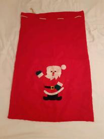 Christmas sack & hat