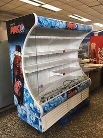 Pepsi open front drinks fridge