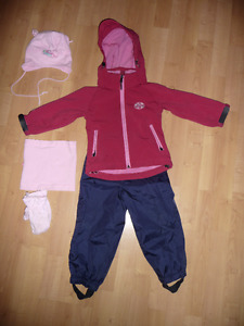 Manteau softshell Souris Mini  (2 ans)