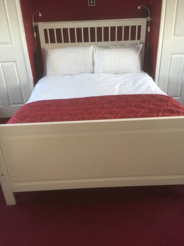 Ikea Hemnes Bedroom Furniture Double Bed