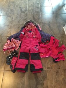 Souris Mini Girl Snowsuit 3T