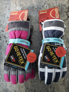 Brand new with tag Women Kombi GORE-TEX ski and snowboard gloves