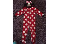 Minnie Mouse onsie