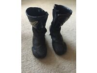 Teknic motorcycle boots - size 45