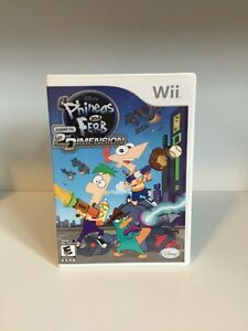 Phineas and Ferb Wii game