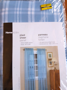 """New Sheer curtains 40""""×84"""""""