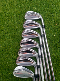 Selection of irons