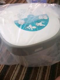 New nappy bin