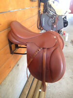 Saddle with Exchangeable Gullet, Measuring Guide, Cover & More