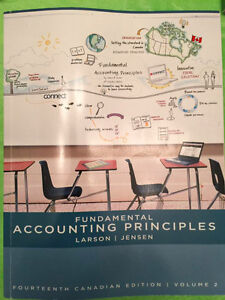 Fundamental Accounting Principles, Volume 2, Larson