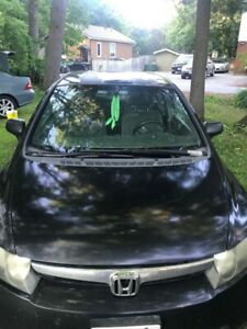 2008 honda civic 350XXXClassic Honda paint fade solid car