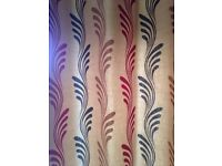 Pair of Crowson Professionally made Fully Lined Eyelet Curtains & Cushion Covers