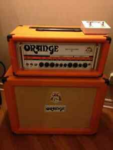Orange rockerverb 50 avec cabinet 2x12