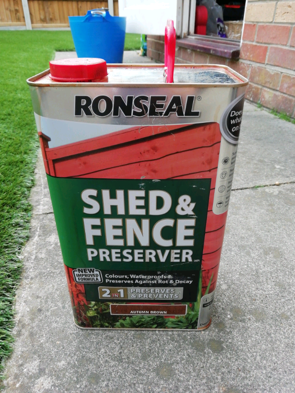 Ronseal Shed And Fence Preserver In Taverham Norfolk Gumtree