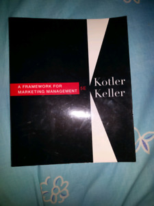 A framework for marketing management by kotler and ketler