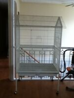 Large metal bird cage for sale