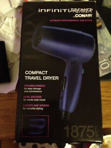 CONAIR INFINITI PREMIER COMPACT TRAVEL DRYER