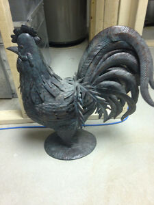 Beautiful Metal Decor Rooster