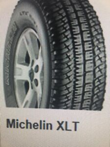 Michelin XLT P265/70 R17 Tires - Set $300