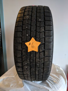 USED WINTER TIRES - 17 INCH SIZES - 8 SETS