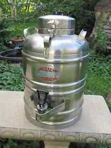 3 Gallon Stainless Steel Thermal Beverage or Water Container
