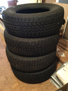 WINTER TIRES  225 70 R16 with RIMS