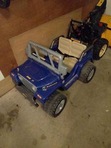 12 volt power wheels jeep
