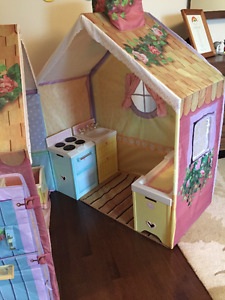 Playskool Rose Petal Cottage Playhouse Stove with all Accesories
