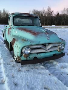 1955 Ford F-100 1/2 Ton Truck