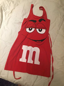 Adult Size Small Red M&M