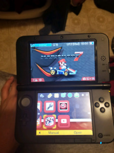 Black Nintendo DS XL