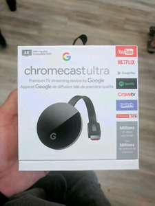 Save $ and Buy This Google Chromecast Ultra