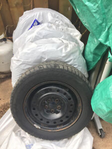 Used Winter Rims and Tires 70%