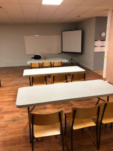 Meeting/workshop Space for hourly rent