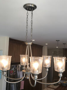 High Quality Set of Pewter Light Fixtures. REDUCED