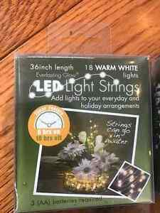 "Fairy lights 2 boxes, 30 and 36"" lengths"