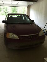 2002 civic coupe starter car/beater