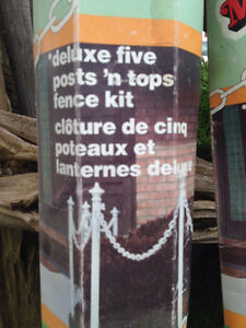 Delux 10 Post and Top, Fence Kit