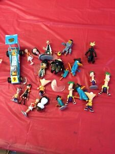 Phineas and Ferb Disney figurines